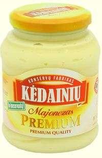 450ml PREMIUM mayonnaise KĖDAINIŲ KONSERVAI
