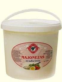 5kg 40proc.traditional mayonnaise KĖDAINIŲ KONSERVAI