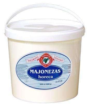 """Mayonnaise """"Horeca"""", """"Kėdainių konservų fabrikas"""", 50%, 5000 g"""