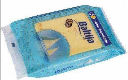 """Cheese """"Baltija"""" 45% packed"""