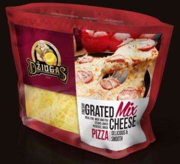 Grated Mix cheese Pizza, 250g
