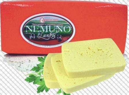 "Cheese product ""Nemuno Lankų""   45% fat.  ~ 7,5kg"