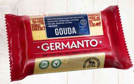 "Cheese ""Germanto Gouda"" 45 % fat in dry matter, 240g"