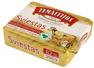 "82% Butter ""Žemaitijos"", packed 200g"