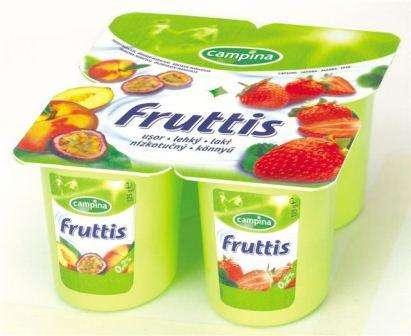 FRUTTIS 0,1% 125 g /peach passion fruit, strawberry yogurt