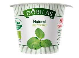 Bio yoghurt Dobilas, natural 3,5-4,6% fat, 125g