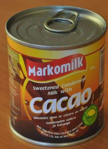 Sweetened condensed milk with cocoa (with cover), 385g