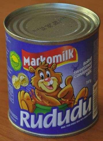 "Caramelized condensed milk ""Rududu"", 1kg"