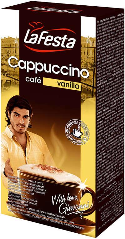 LA FESTA with vanilla 10*12.5g cappuccino