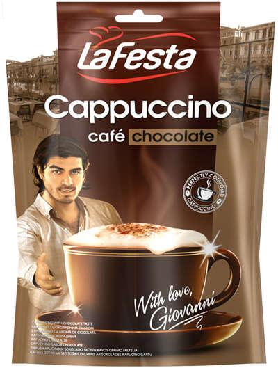 LA FESTA chocolate 100g cappuccino