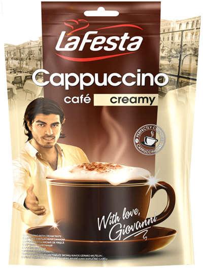 LA FESTA with cream 100g cappuccino