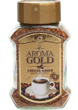 Instant coffee AROMA Gold, 100g