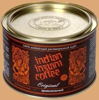 INDIAN INSTANT COFFEE 90 g /consistent coffee