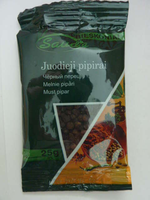 Black pepper bean 28g