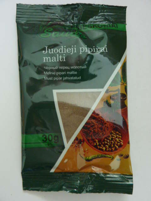 Black pepper powder 30g