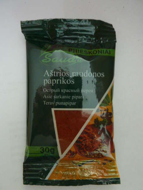 Hot paprika powder 40g