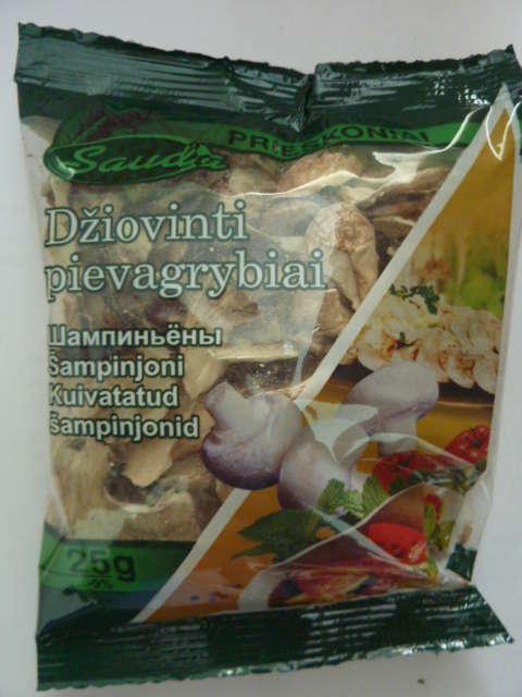 Dry Champignons 25g