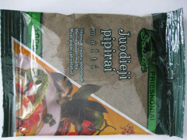 Black pepper powder 100g