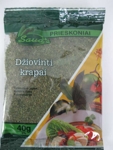 Dry dill tops 50g