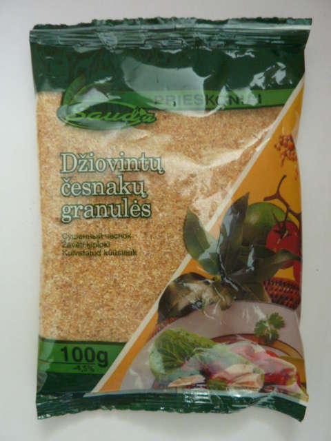 Garlic granules 100g