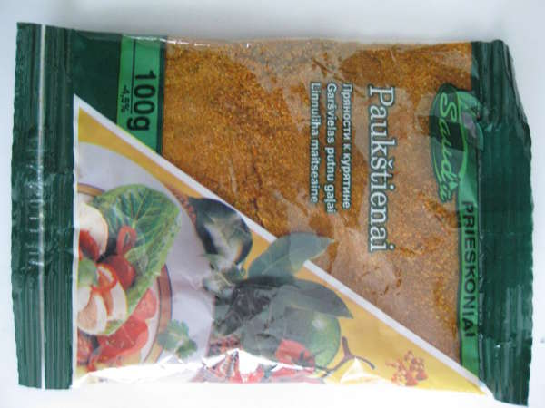 Spices for chicken 100g