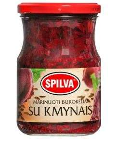 SPILVA Pickled beets with caraway, 570g