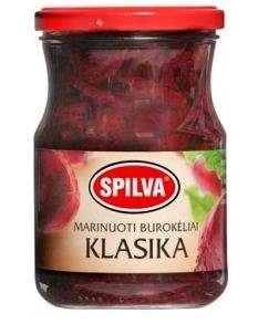 SPILVA pickled beets, classic, 570 (330)g