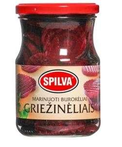 SPILVA pickled beets, sliced, 570 (380)g