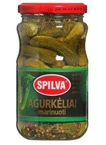 SPILVA pickled cucumbers, 330(190)g