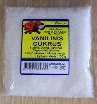 Vanilla sugar 100g