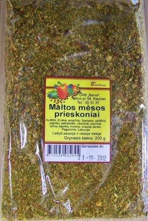 Mince meat seasoning mix 200g