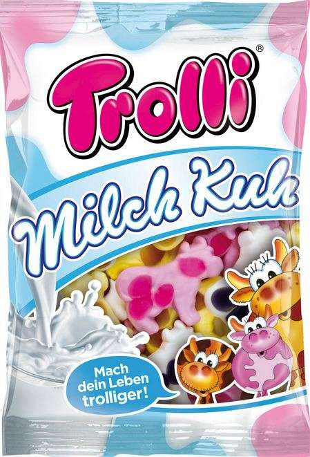 TROLLI Gum cow MILCH KUH, 200g