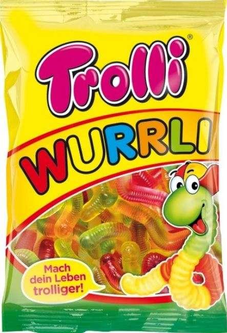 TROLLI Gum worms, 100g
