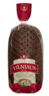 'Vilniaus'' dark rye bread, 2kg (not sliced)