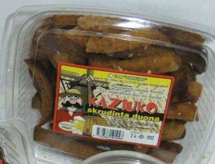 """""""Kaziuko"""" fried bread  300g"""
