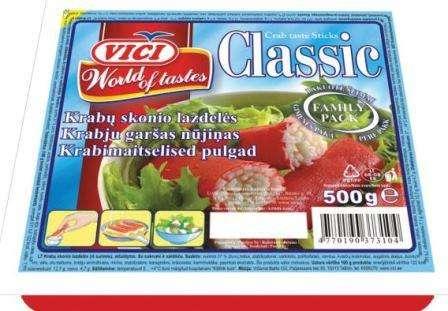 "Crab sticks ""Viči"",  500 g"