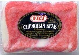 "Snow crab meat ""Viči"",  120 g"