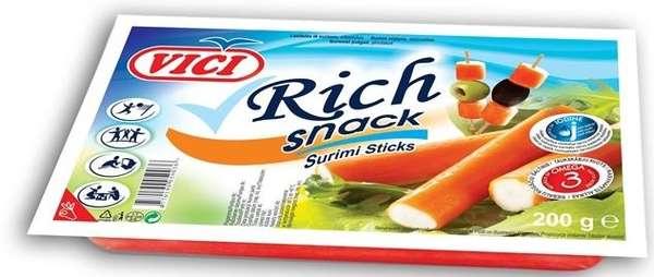 """Crab sticks """"Rich"""",""""Viči"""",  200 g"""