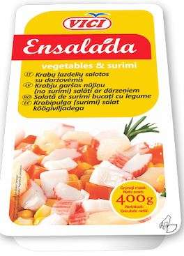 Crab sticks with vegetables ENSALADA, 6x400g