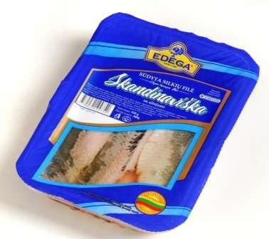 """Herring fillet """"Skandinaviška""""1 kg"""
