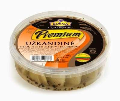 """PREMIUM herring fillet """"Snak"""" 0,22kg"""
