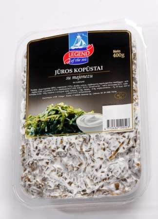 Sea kelps with mayonnaise 0,4kg