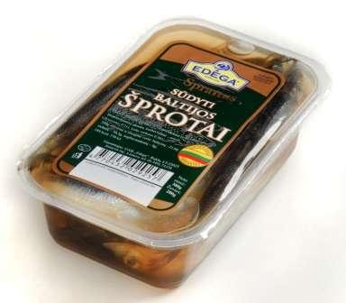 European sprat with seasoning dressing 0,4kg