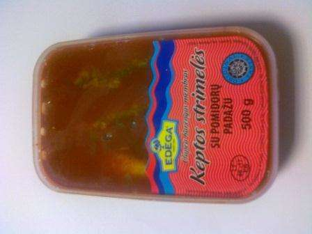 Fried baltic herring with tomato sauce 0,5kg
