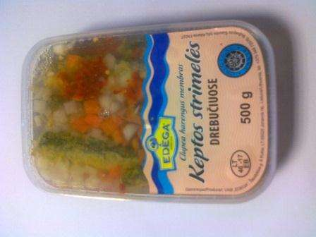 Fried baltic herring in jelly 0,5kg