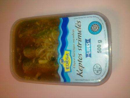 "Fried baltic herring ""Liuks"" 0,5kg"