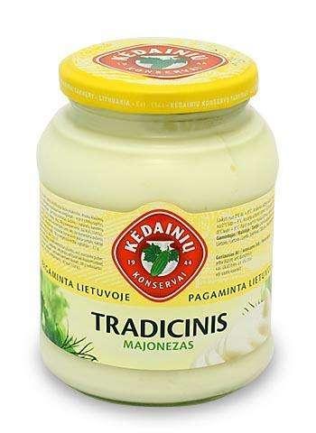 450ml traditional mayonnaise KĖDAINIŲ KONSERVAI