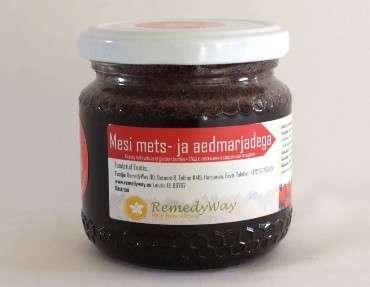 Honey with wild and garden berries 250 g