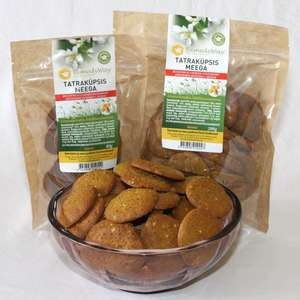 Buckwheat cookies with honey 1000g/200g/80g