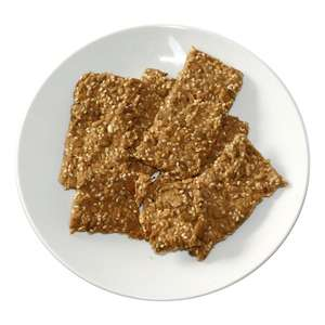 Raw buckwheat crispbreads with seeds 70g